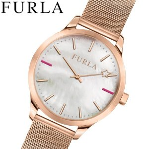 フルラ FULRA 腕時計 レディース ホワイトシェル メッシュベルト LIKE R4253119505|bellmart