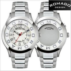 ロマゴ デザイン ROMAGO DESIGN  腕時計 アトラクション ミラーウォッチ ステンレス/シルバー x ホワイト文字盤 RM015-0162SS-SVWH|bellmart