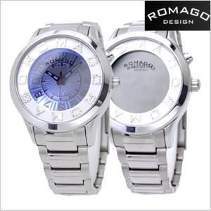 ロマゴ デザイン ROMAGO DESIGN  腕時計 アトラクション ミラーウォッチ ステンレス/シルバー x ホワイト文字盤 レディース・ユニセックス RM067-0162SS-SVWH|bellmart