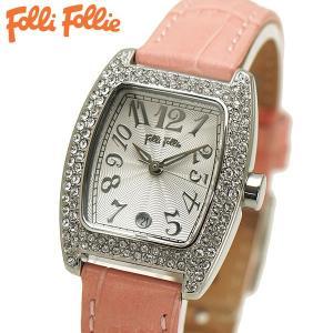 フォリフォリ FOLLI FOLLIE 腕時計 レディース/女性用 シルバー x ピンク S922ZI SLV/PNK|bellmart