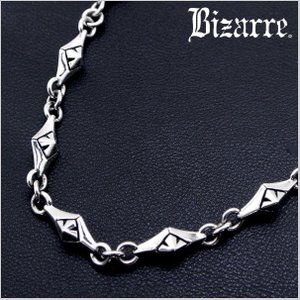 ビザール Bizarre Rayシルバーチェーン/ネックレス ショートサイズ/43cm  SNP065|bellmart