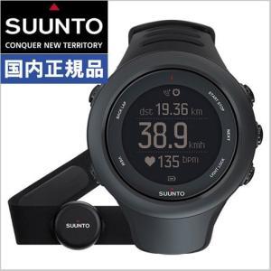 スント SUUNTO アンビット3 スポーツ ブラック HR AMBIT3 SPORT BLACK HR 心拍ベルト付モデル SS020678000|bellmart