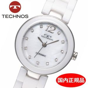 テクノス TECHNOS 腕時計 レディース セラミック TSL613TW|bellmart