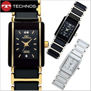 テクノス TECHNOS 腕時計 レディース セラミック&ステンレススチール製 TSL906|bellmart