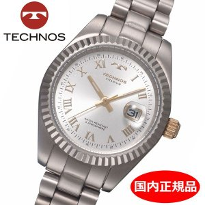 テクノス TECHNOS 腕時計 レディース チタン製 TSL915IS|bellmart