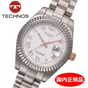 テクノス TECHNOS 腕時計 レディース チタン製 TSL915IW|bellmart
