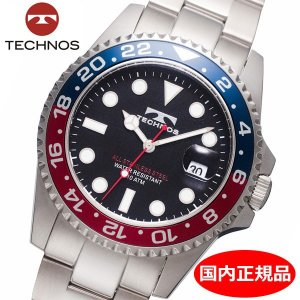 テクノス TECHNOS 腕時計 10気圧防水ダイバー メンズ TSM412NB|bellmart