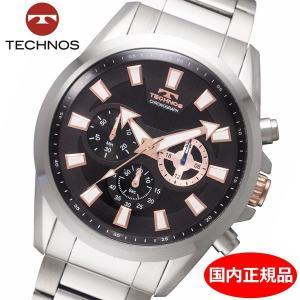 テクノス TECHNOS 腕時計 メンズ クロノグラフ 10気圧防水 TSM616SB|bellmart