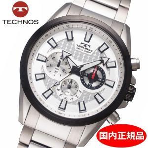 テクノス TECHNOS 腕時計 メンズ クロノグラフ 10気圧防水 TSM616TS|bellmart