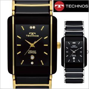 テクノス TECHNOS 腕時計 メンズ セラミック&ステンレススチール製 TSM903|bellmart