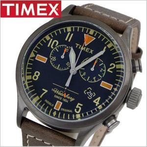 TIMEX タイメックス 腕時計 メンズ WATERBURY S.B.FOOT LEATHER CHRONO ウォーターベリー S.B.フットレザー クロノグラフ RED WING レッドウィング TW2P84100 bellmart