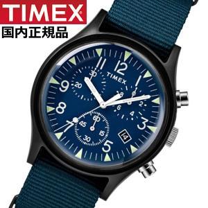 TIMEX タイメックス 腕時計 メンズ MK1 アルミニウム クロノグラフ NATOベルト ネイビー TIMEX タイメックス TW2R67600|bellmart