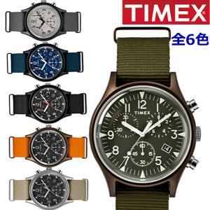 【選べる6色】TIMEX タイメックス 腕時計 メンズ MK1 アルミニウム クロノグラフ NATOベルト TW2R67600 TW2R67700 TW2R67800 TW2T10600 TW2T10700 TW2T10900|bellmart