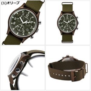 【選べる6色】TIMEX タイメックス 腕時計 メンズ MK1 アルミニウム クロノグラフ NATOベルト TW2R67600 TW2R67700 TW2R67800 TW2T10600 TW2T10700 TW2T10900|bellmart|02