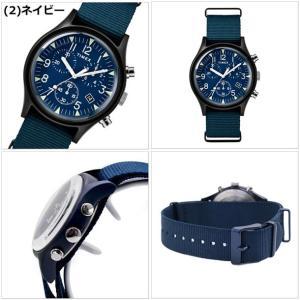 【選べる6色】TIMEX タイメックス 腕時計 メンズ MK1 アルミニウム クロノグラフ NATOベルト TW2R67600 TW2R67700 TW2R67800 TW2T10600 TW2T10700 TW2T10900|bellmart|03