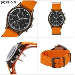 【選べる6色】TIMEX タイメックス 腕時計 メンズ MK1 アルミニウム クロノグラフ NATOベルト TW2R67600 TW2R67700 TW2R67800 TW2T10600 TW2T10700 TW2T10900|bellmart|07