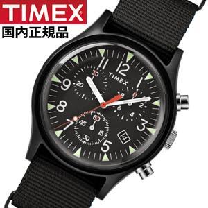 TIMEX タイメックス 腕時計 メンズ MK1 アルミニウム クロノグラフ NATOベルト ブラック TIMEX タイメックス TW2R67700|bellmart