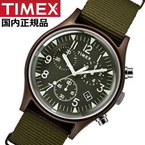 TIMEX タイメックス 腕時計 メンズ MK1 アルミニウム クロノグラフ NATOベルト オリーブ TIMEX タイメックス TW2R67800|bellmart