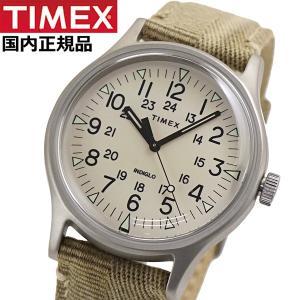 TIMEX タイメックス 腕時計 メンズ MK1 スチール インディグロナイトライト搭載 ファブリックベルト TW2R68000|bellmart