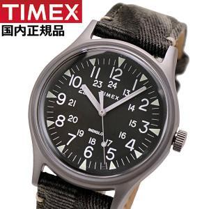 TIMEX タイメックス 腕時計 メンズ MK1 スチール インディグロナイトライト搭載 ファブリックベルト TW2R68100|bellmart
