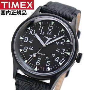 TIMEX タイメックス 腕時計 メンズ MK1 スチール インディグロナイトライト搭載 ファブリックベルト TW2R68200|bellmart