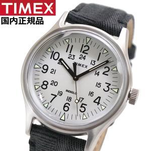 TIMEX タイメックス 腕時計 メンズ MK1 スチール インディグロナイトライト搭載 ファブリックベルト TW2R68300|bellmart