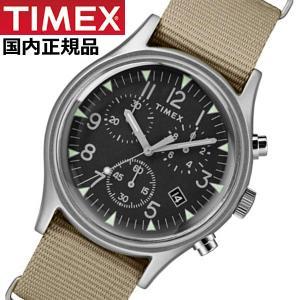 TIMEX タイメックス 腕時計 メンズ MK1 アルミニウム クロノグラフ NATOベルト ベージュ TIMEX タイメックス TW2T10700|bellmart
