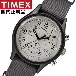 TIMEX タイメックス 腕時計 メンズ MK1 アルミニウム クロノグラフ NATOベルト グレー TIMEX タイメックス TW2T10900|bellmart