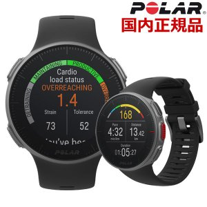 POLAR ポラール PRO MULTISPORT WATCH 手首型心拍計 GPS内蔵 スマートウォッチ 腕時計 ブラック VANTAGE V BK bellmart