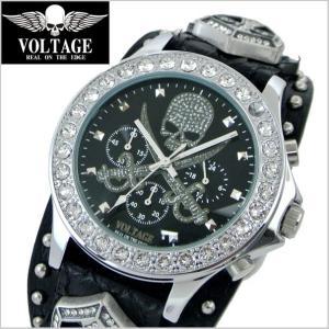 VOLTAGE ヴォルテージ メンズ腕時計 SENTINEL IV (センチネル 4) ブラック×シルバー VOLTAGE VO-013IV S-02/B|bellmart
