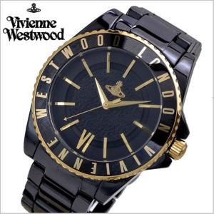 ヴィヴィアンウエストウッド 腕時計 Vivienne Westwood セラミック/ブラック 男女兼用 ユニセックス VV048GDBK|bellmart