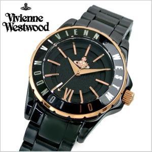 ヴィヴィアンウエストウッド 腕時計 Vivienne Westwood ナイツブリッジ2 セラミック/ブラック レディース VV088RSBK|bellmart