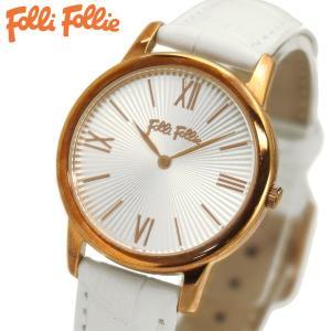フォリフォリ FOLLI FOLLIE 腕時計 レディース/女性用 Match Point シルバー x ホワイト WF15R032SPW-WH|bellmart