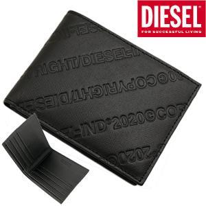ディーゼル DIESEL 二つ折り財布 シュートウォレット メンズ レザー NEELA XS X07442 P0598 T8013|bellmart
