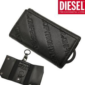 ディーゼル DIESEL 6連キーケース KEYCASE II 牛革/ブラック メンズディーゼル DIESEL  X07444 P0598 T8013|bellmart