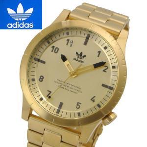 アディダス オリジナルス adidas Originals 腕時計 男女兼用・ユニセックス/メンズ・レディース Cypher_M1 イエローゴールド Z03-510|bellmart