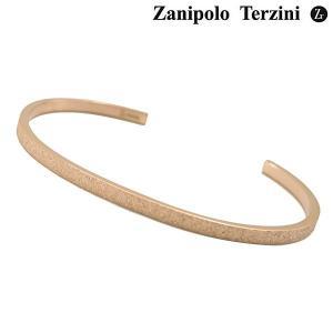 Zanipolo Terzini ザニポロ・タルツィーニ サージカルステンレス製 バングル/ブレスレット ローズ゛ゴールドIP レディース ZTB3600-FM-RG bellmart