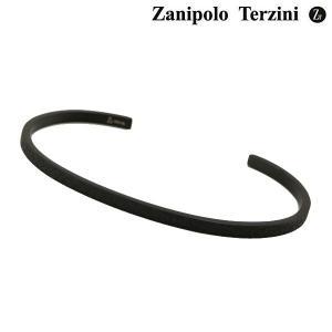 Zanipolo Terzini ザニポロ・タルツィーニ サージカルステンレス製 バングル/ブレスレット ブラックIP メンズ ZTB3600-MA-BK bellmart