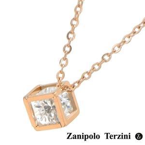 Zanipolo Terzini(ザニポロ・タルツィーニ)ネックレス/ペンダント メンズ・レディース ユニセックス サージカルステンレス製 ZTP3811-RG bellmart