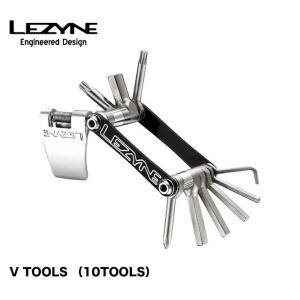 (LEZYNE)レザイン V TOOLS (10TOOLS)自転車用ツール A7075をCNC加工し...