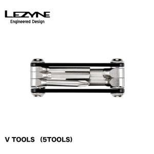 (LEZYNE)レザイン V TOOLS (5TOOLS)自転車用ツール A7075をCNC加工した...