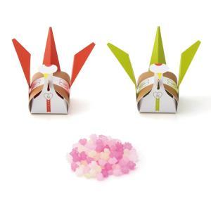 プチギフト 結婚式 お菓子 退職 メオトヅル小箱(こんぺいとう)1個 bellsimple-kiratto