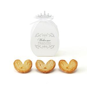 チャペルプチ(ハートパイミニ) 1個 プチギフト 結婚式 お菓子 退職 bellsimple-kiratto