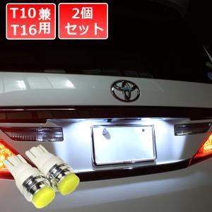 T10 LEDバルブ 1W級 樹脂ヘッド ナンバー灯 ナンバーランプ ライセンスランプ 広角照射 2...