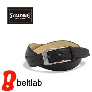 ベルト メンズ 日本製 ビジネスベルト/SPALDING スポルディング/牛革 本革 レザー スタイリッシュ beltlab-y
