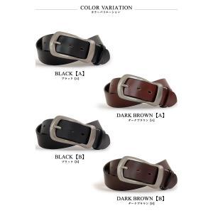 ベルト メンズ 本革 レディース 日本製 カジュアル 牛革 レザーベルト 馬蹄型バックル|belton|02