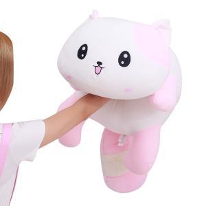 アライグマ 寝そべりくったり ぬいぐるみ ピンク panda pink 70cm|beluhappines