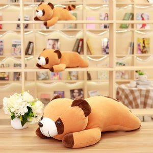 ぬいぐるみ アライグマ 抱き枕 昼寝枕 ふわふわ かわいい 景品 お祝い 男 女 贈り物 65cm|beluhappines