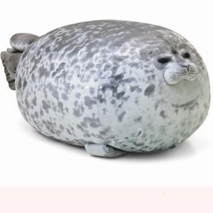 ぬいぐるみ アザラシ ねむねむ 抱き枕 ふわふわ 水族館