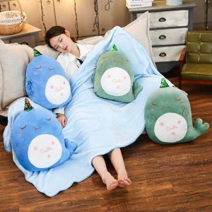 ぬいぐるみ くじら 鯨 抱き枕 クッション ハンドウォーマー 昼寝 クリスマス ギフト|beluhappines